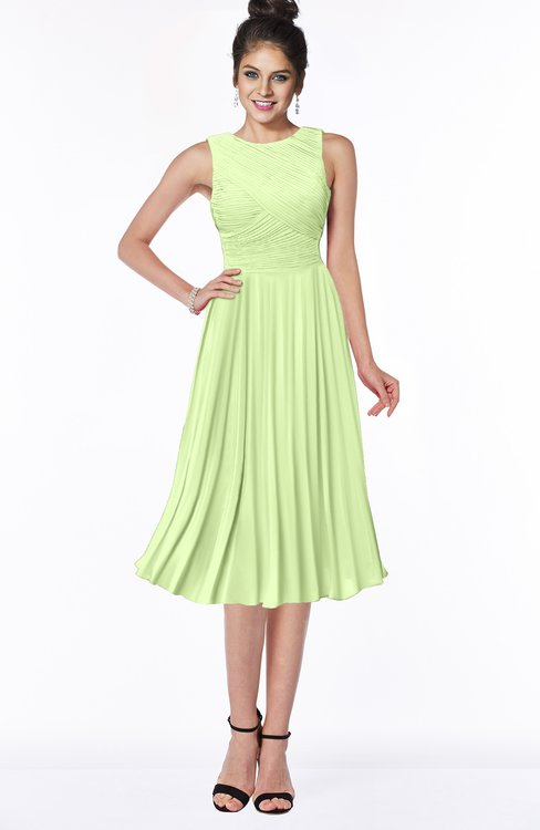 ColsBM Aileen Butterfly Gorgeous A-line Sleeveless Chiffon Pick up Bridesmaid Dresses