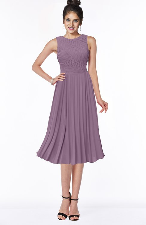 ColsBM Aileen Valerian Gorgeous A-line Sleeveless Chiffon Pick up Bridesmaid Dresses