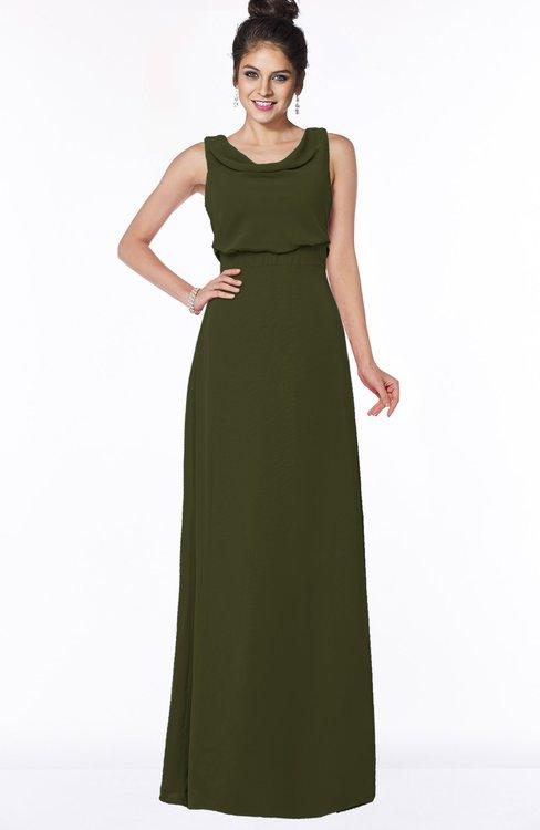 ColsBM Eileen Beech Gorgeous A-line Scoop Sleeveless Floor Length Bridesmaid Dresses