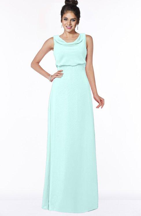 ColsBM Eileen Blue Glass Gorgeous A-line Scoop Sleeveless Floor Length Bridesmaid Dresses