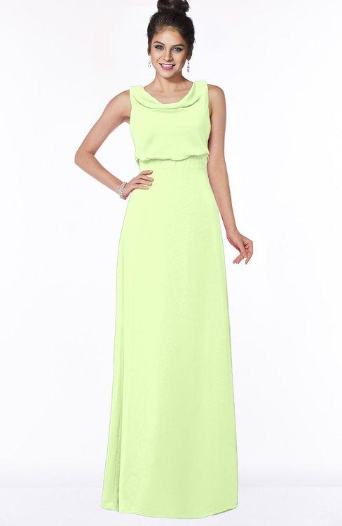 ColsBM Eileen Butterfly Gorgeous A-line Scoop Sleeveless Floor Length Bridesmaid Dresses