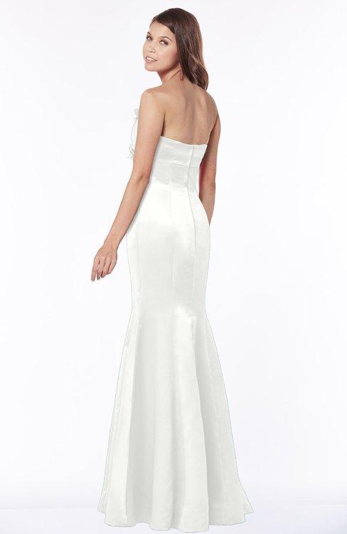 ec96c3269e9 ... ColsBM Linda Cloud White Glamorous Fishtail Sweetheart Half Backless  Satin Flower Bridesmaid Dresses