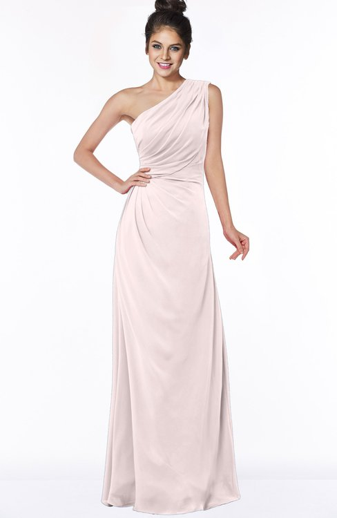 ColsBM Daniela Angel Wing Glamorous A-line Sleeveless Zip up Chiffon Ruching Bridesmaid Dresses