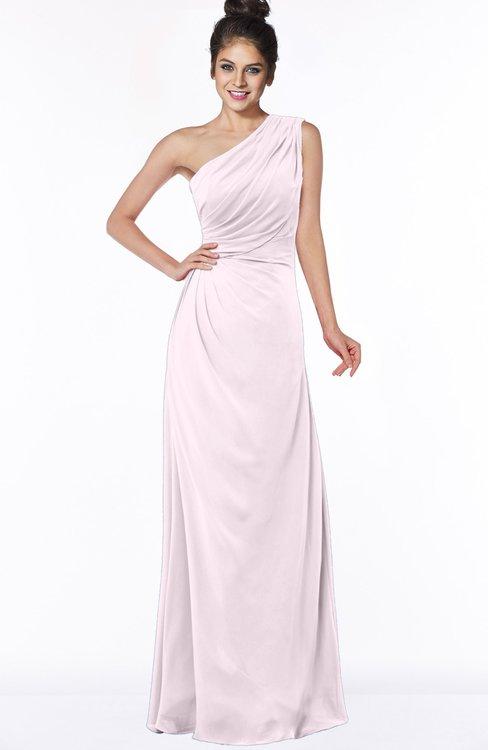 ColsBM Daniela Blush Glamorous A-line Sleeveless Zip up Chiffon Ruching Bridesmaid Dresses