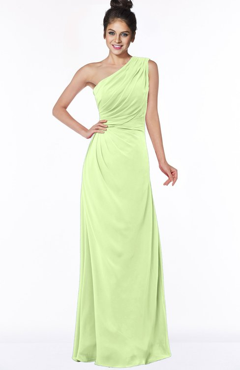 ColsBM Daniela Butterfly Glamorous A-line Sleeveless Zip up Chiffon Ruching Bridesmaid Dresses