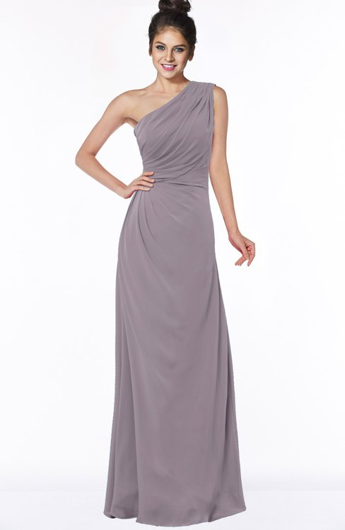 ColsBM Daniela Cameo Glamorous A-line Sleeveless Zip up Chiffon Ruching Bridesmaid Dresses