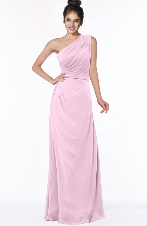 ColsBM Daniela Fairy Tale Glamorous A-line Sleeveless Zip up Chiffon Ruching Bridesmaid Dresses