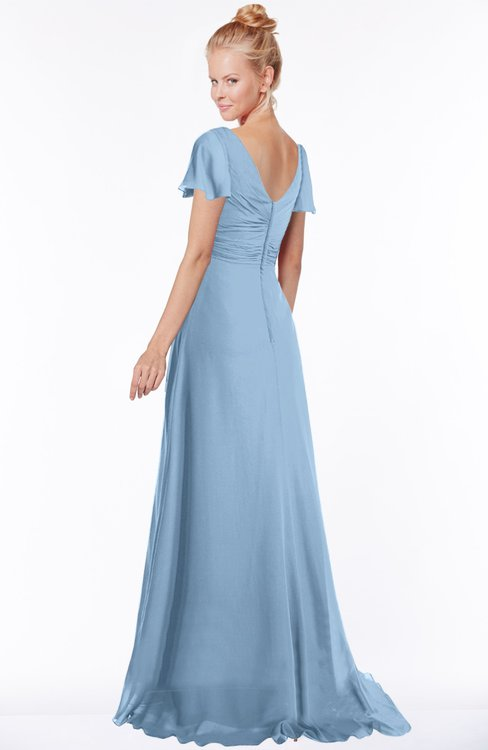 ColsBM Ellen Sky Blue Bridesmaid Dresses - ColorsBridesmaid