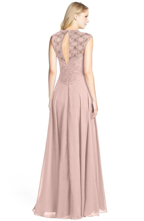 Colsbm Kara Dusty Rose Bridesmaid Dresses Colorsbridesmaid