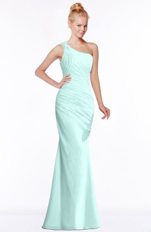 ColsBM Michelle Blue Glass Simple A-line Sleeveless Chiffon Floor Length Bridesmaid Dresses
