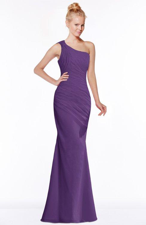 ColsBM Michelle Pansy Simple A-line Sleeveless Chiffon Floor Length Bridesmaid Dresses