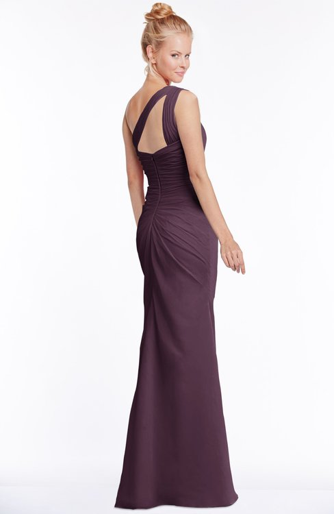 15e927489af50 ... ColsBM Michelle Plum Simple A-line Sleeveless Chiffon Floor Length  Bridesmaid Dresses
