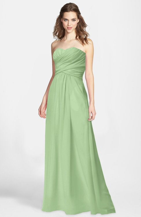 ColsBM Aliana Gleam Simple Sweetheart Sleeveless Zip up Chiffon Bridesmaid Dresses