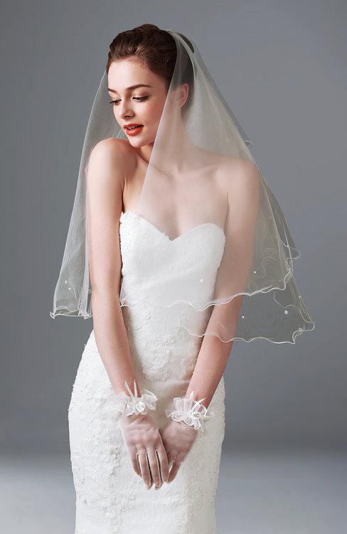 ColsBM V95001 White Wedding Veil 95001