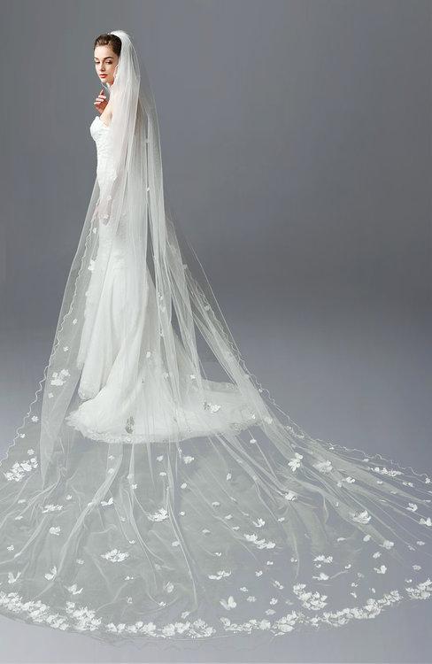 ColsBM V95011 White Wedding Veil 95011