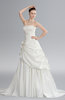 ColsBM Aleah Cream Elegant Garden Full Skirt Strapless Sleeveless Lace up Bridal Gowns