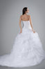 ColsBM Kora White Princess Destination Ball Gown Sweetheart Backless Paillette Bridal Gowns