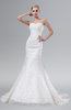 ColsBM Serena Cream Glamorous Hall Mermaid Sweetheart Backless Sequin Bridal Gowns