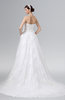 ColsBM Amira Cream Glamorous Outdoor A-line Sweetheart Sleeveless Lace up Chapel Train Plus Size Bridal Gowns