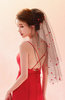 ColsBM V95041 Red Wedding Veil 95041