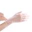 Plastic Vinyl Gloves Powder Free PVC Gloves (100PCS)