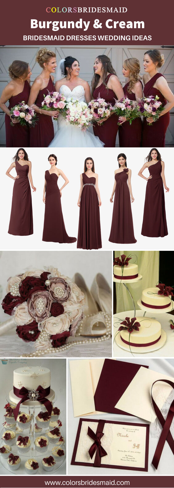 20 Best Burgundy Wedding Color Palettes - ColorsBridesmaid