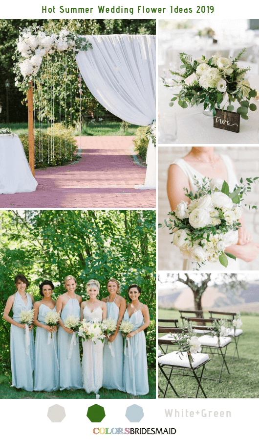 8 Hottest Summer Wedding Flowers Ideas For 2019 Colorsbridesmaid