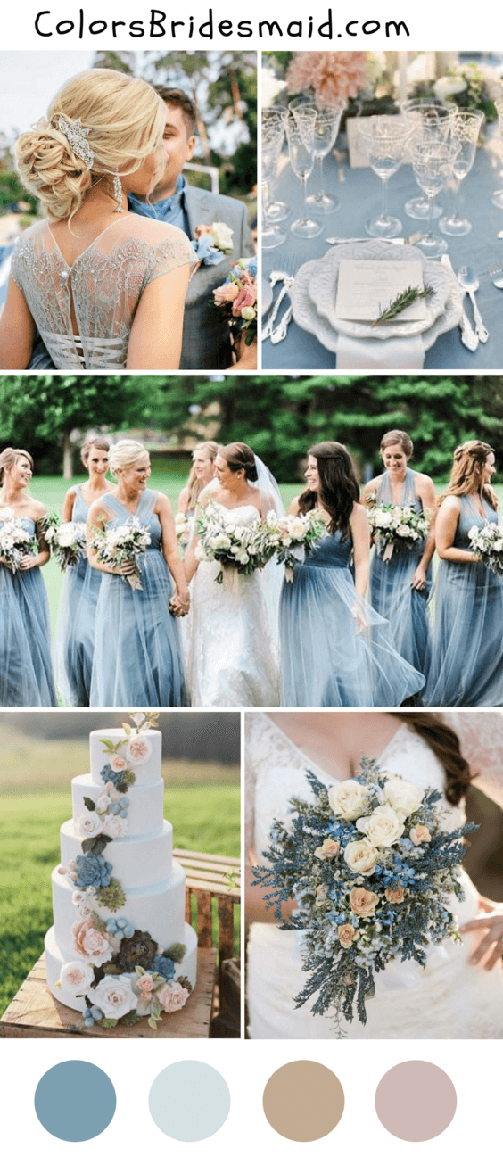 8 Popular Fall Wedding Color Palettes For 2018 Colorsbridesmaid
