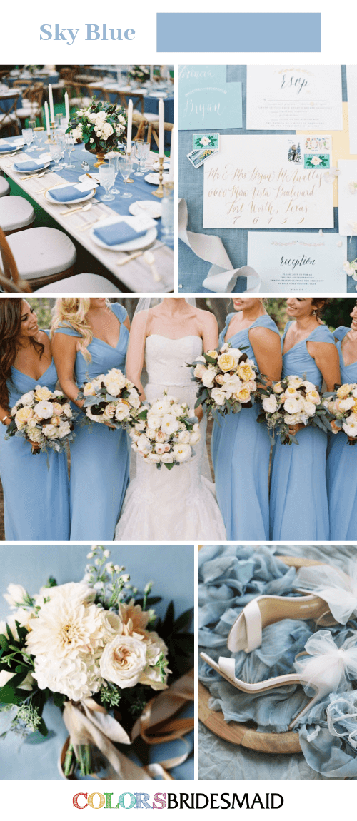 All 30 Blue Wedding Color Palettes Colorsbridesmaid