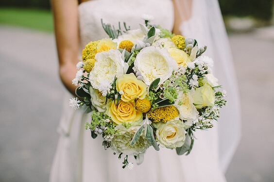 Summer Wedding Grey Bridesmaid Dresses Yellow Wedding Bouquets With Greenery And Grey Men S Suits Colorsbridesmaid,Cute Fall Dresses For Weddings