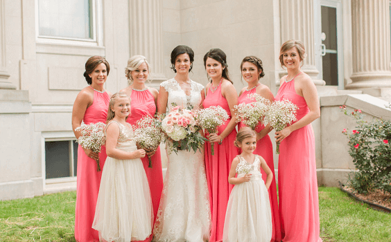 Navy And Coral Wedding.Coral And Navy Blue May Wedding Coral Bridesmaid Dresses Navy Blue