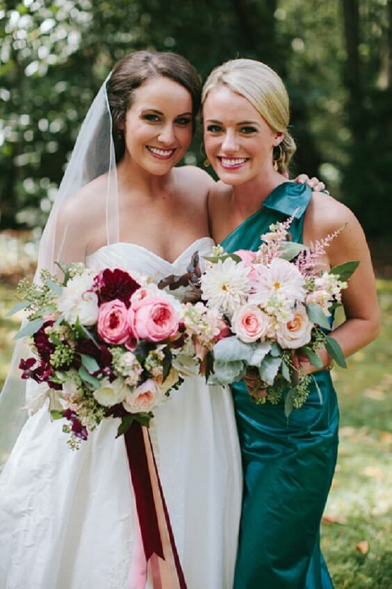 Fall Wedding Bouquets November