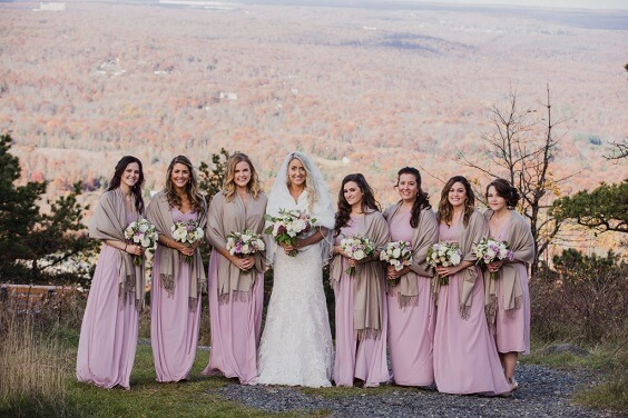 mauve bridesmaid dresses for november mauve and navy wedding 2019