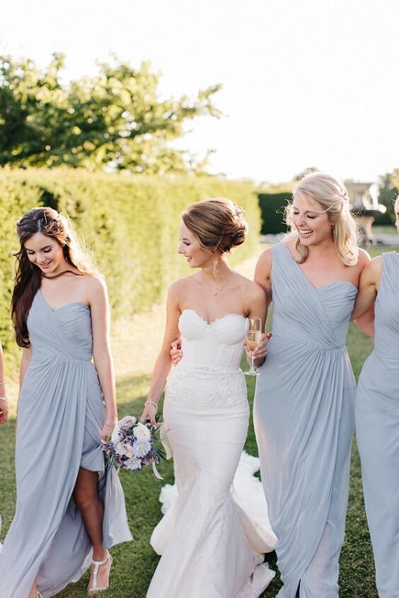 lavender bridesmaid dresses for october lavender and wheat wedding 2019