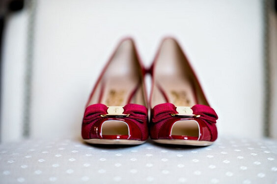Wedding shoes for Navy Blue, Berry and Grey October Wedding 2020