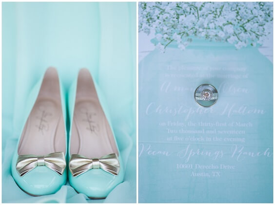 Wedding shoes for Mint Green, White and Khaki July Wedding 2020