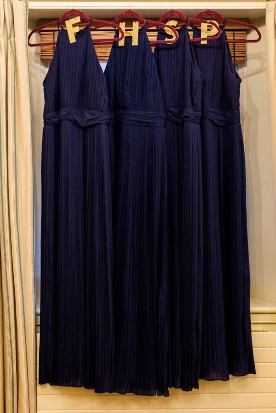 Dark Blue Bridesmaid Dresses for Dark Blue, Burgundy and Purple December Wedding 2020