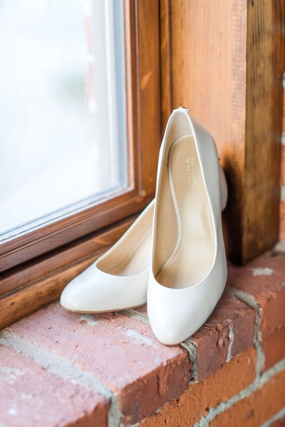 Wedding shoes for Black, White and Grey December Wedding 2020