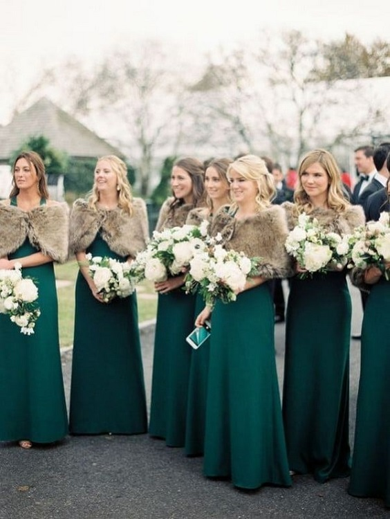 emerald green bridesmaid dresses black men's suit for february wedding colors 2022 emerald green gold and black colors