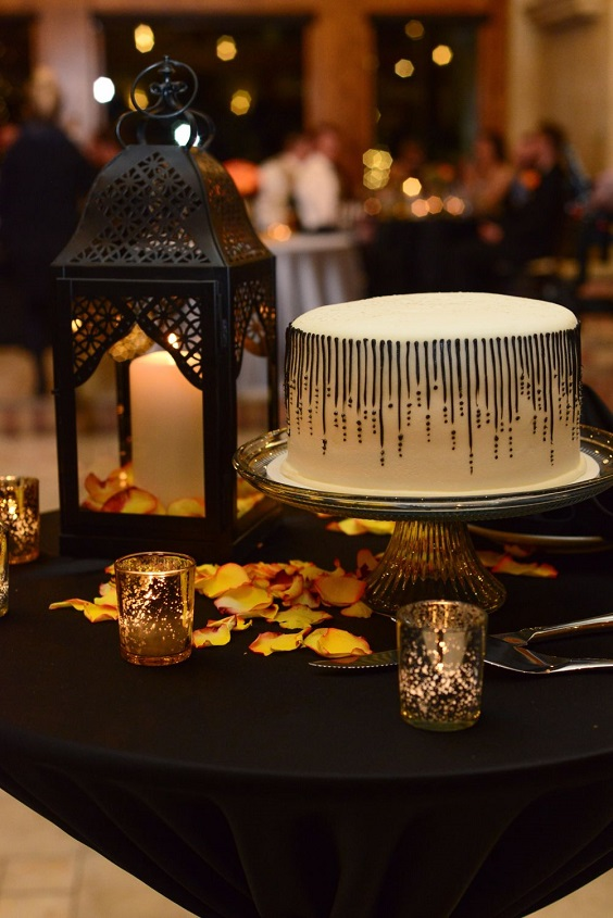white wedding cake for february wedding colors 2022 black tangerine and brown colors