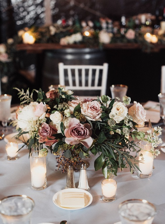 centerpiece for march wedding colors 2022 blush