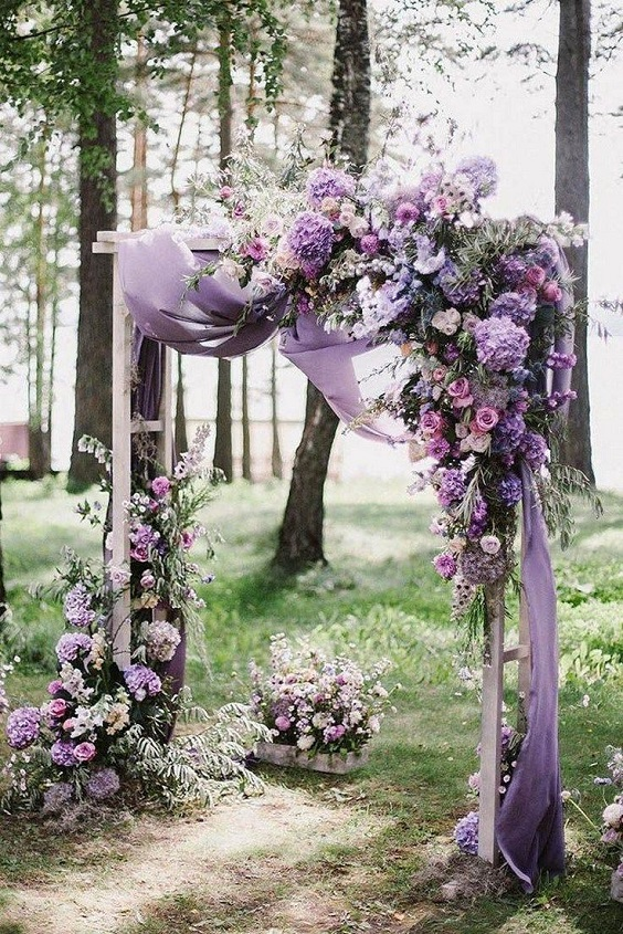 floral wedding arch for march wedding colors 2022 mauve and green