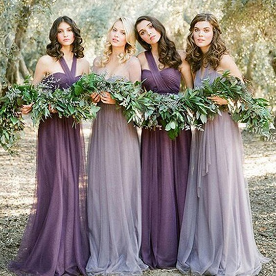 lavender and mauve bridesmaid dresses for march wedding colors 2022 mauve and green