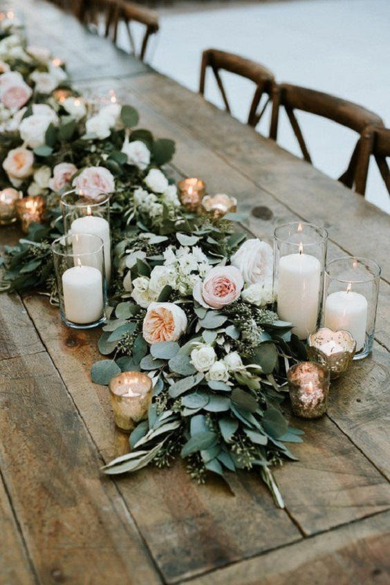 sage green and blush centerpieces for march wedding colors 2022 sage green and blush