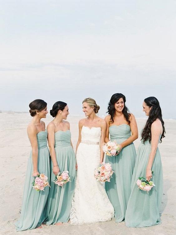 aqua bridesmaid dresses for june wedding colors 2022 aqua
