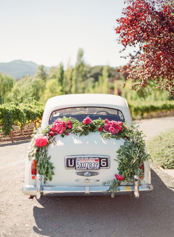 wedding car for june wedding colors 2022 ice blue and fuschia