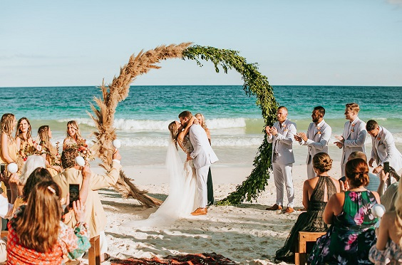 yellow and green wedding arch for june wedding colors 2022 yellow and green