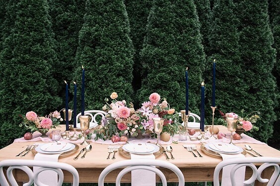 lavender wedding centerpieces for fall wedding colors for 2022 lavender and apricot