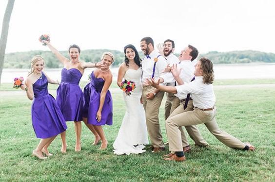 purple bridesmaid dresses men's purple tie for summer wedding color 2022 purple and khaki colors