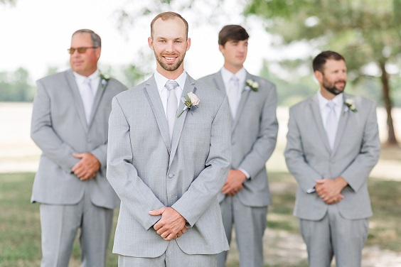 grey men's suits and ties for summer wedding color 2022 mauve and grey colors